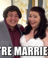 Sister Wives Mykelti and Tony married