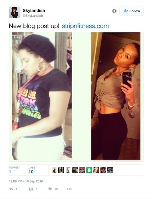 Sky Landish Love & Hip Hop before and after photos 10