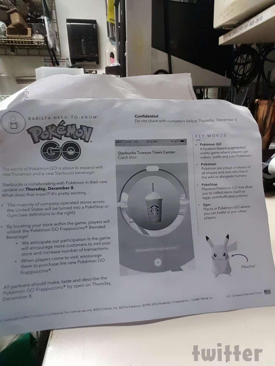 Starbucks Pokemon Go promotion PDF
