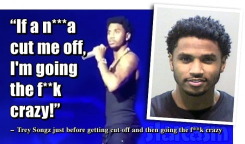 Trey Songz meltdown on Stage and arrest