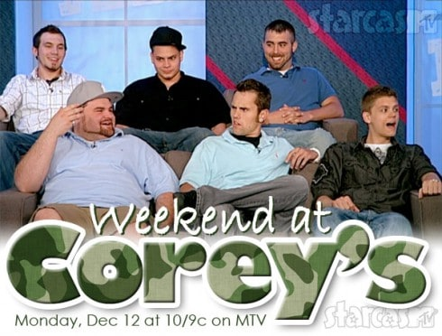 Weekend At Corey's MTV Teen Mom dads special