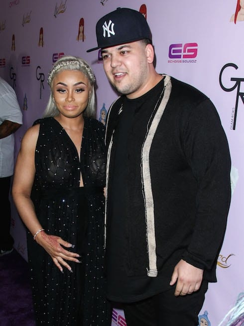 (FILE PHOTOS) Blac Chyna and Rob Kardashian Welcome First Child Together Named Dream
