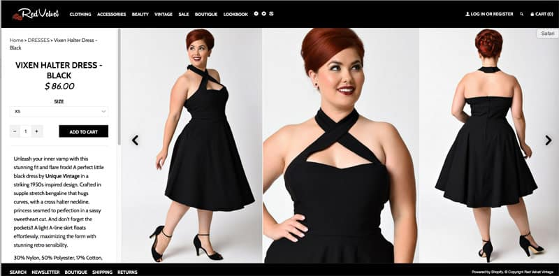 Amber Portwood boutique dress for sale on another site
