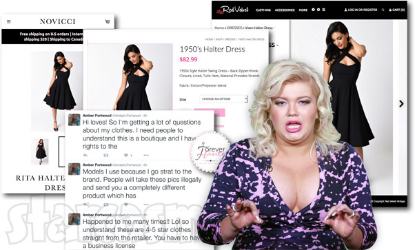 Teen Mom OG Amber Portwood Forever Haute boutique controversy