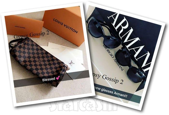 Gypsy Sisters Annie Malone shopping spree Louis Vuitton Armani