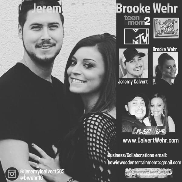 Jeremy Calvert Brooke Wehr back together Instagram photo