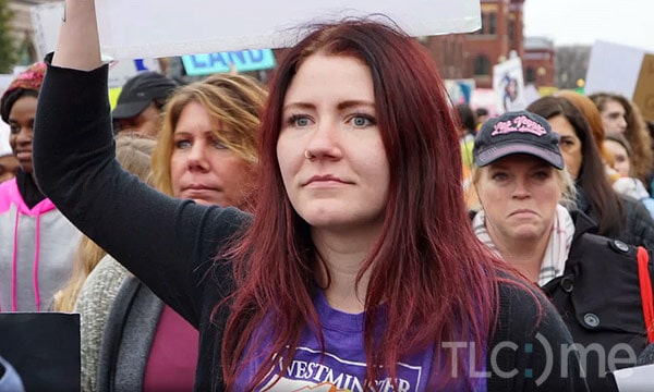 Sister Wives daughter Mariah Brown Women's March protest