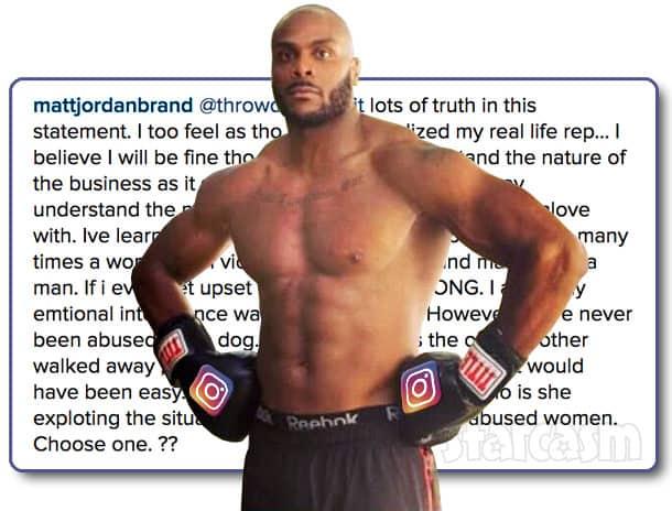 Matt Jordan Instagram flexin