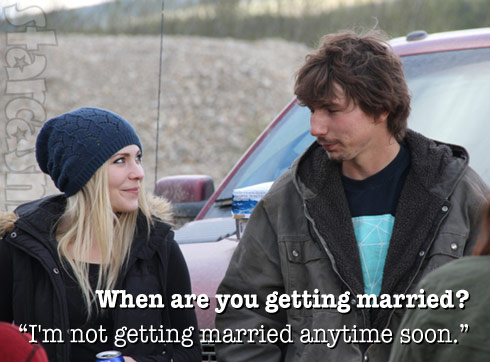 Parker Schnabel married quote