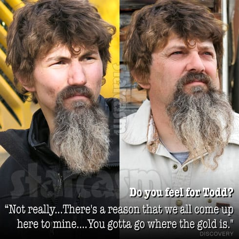 Todd Hoffman Parker Schnabel hair and beard swap