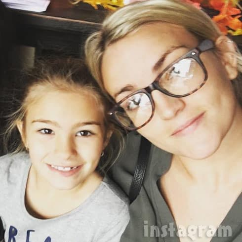 Jamie Lynn Spears and daughter Maddie together