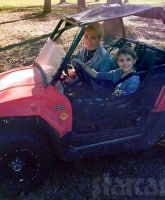 Jamie Lynn Spears daughter Maddie driving ATV
