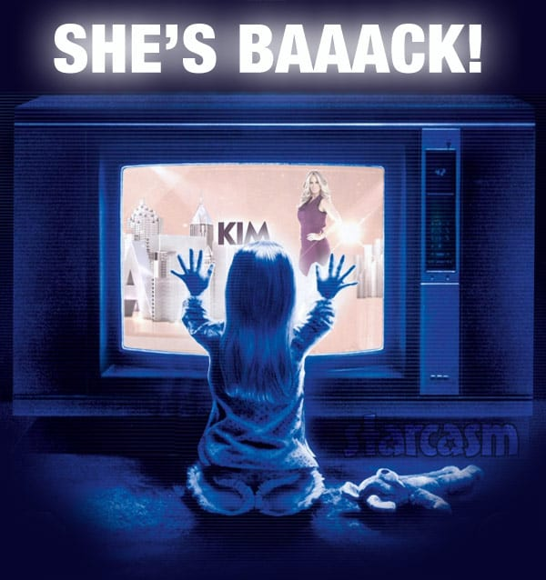 Kim Zolciak returns to Real Housewives of Atlanta She's Back Poltergeist photo