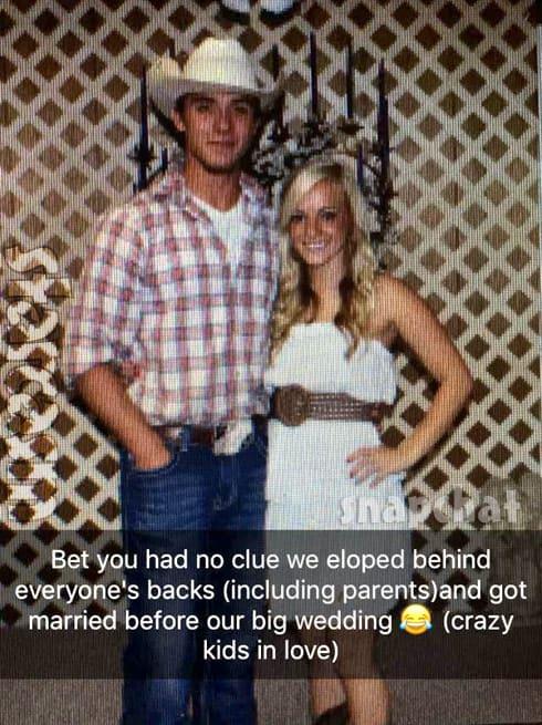 Mackenzie McKee and husband Josh secretly eloped