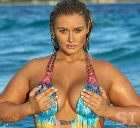 Hunter McGrady talks body size for SI swimsuit shoot