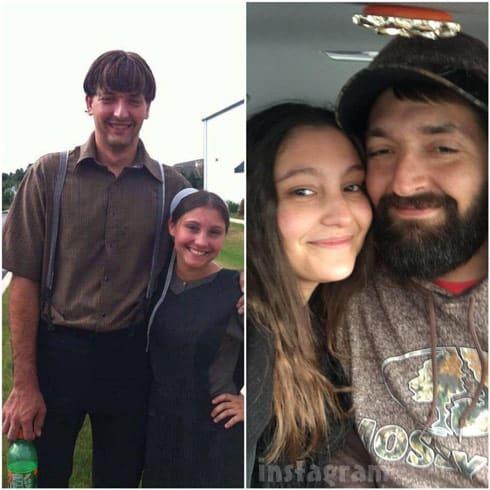 Breaking Amish LA Sam Stoltzfus and girlfriend Kathryn