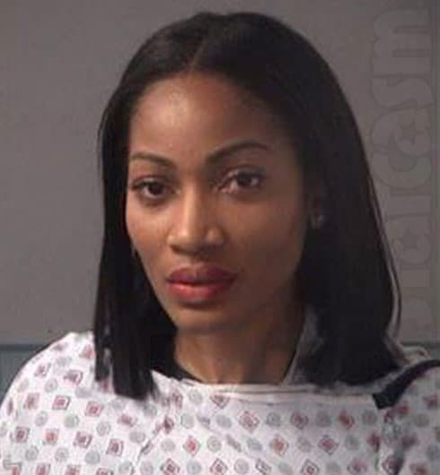Love and Hip Hop Atlanta Erica Dixon arrest mug shot