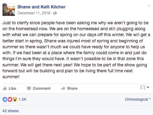 Kelli Kilcher illness update 5