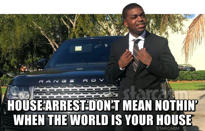 Kodak Black meme House arrest don't mean nothin when the world is your house