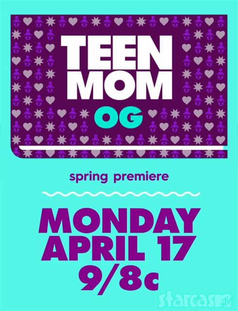 Teen Mom OG 2017 premiere date