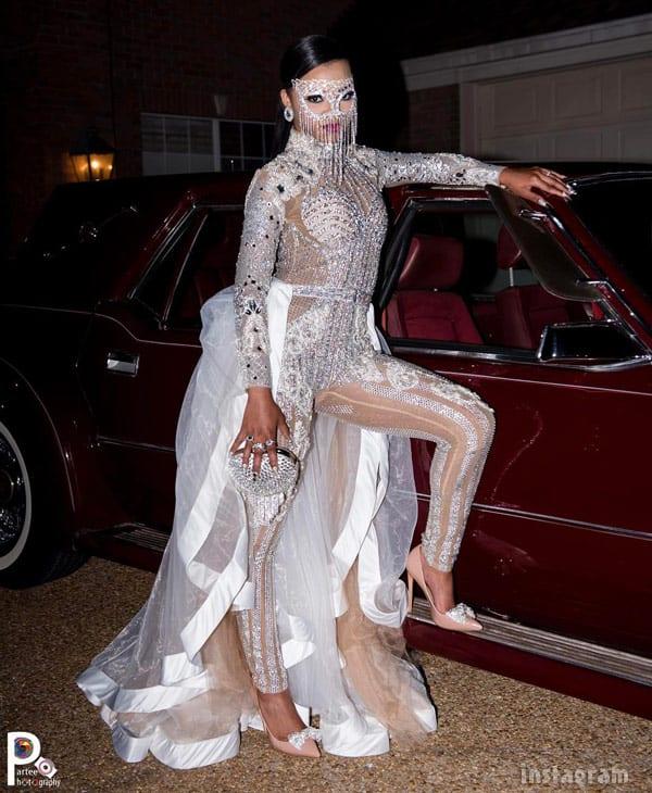 BRING IT! Faith Thigpen slays prom in Angel Brinks body ...