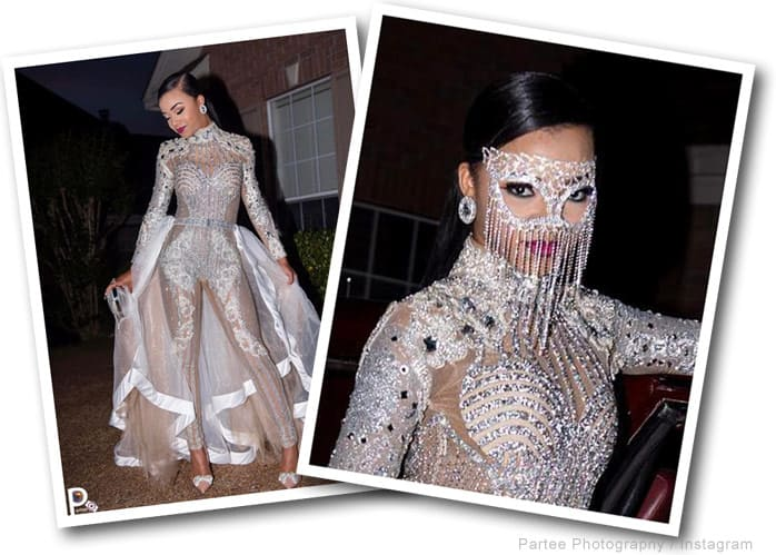 Bring It Faith Thigpen Slays Prom In Angel Brinks Body Suit