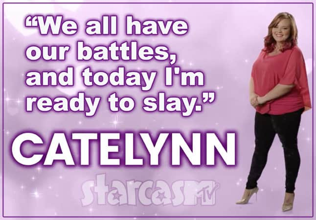 Catelynn Lowell Real Housewives tagline
