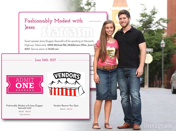 Fashionably Modest with Jessa Duggar Seewald tickets
