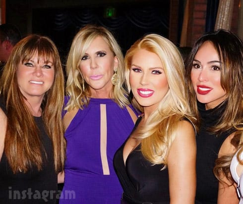Gretchen Rossi Vicki Gunvalson Jeana Keough Kelly Dodd together