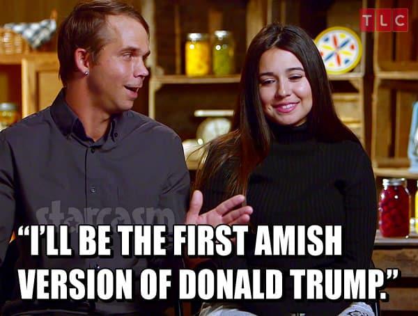 Jeremiah Raber Amish Donald Trump
