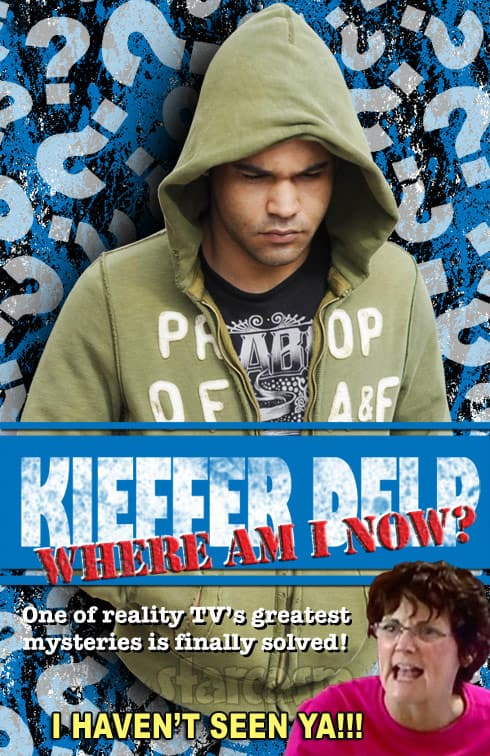 Kieffer Delp Where Am I Now book