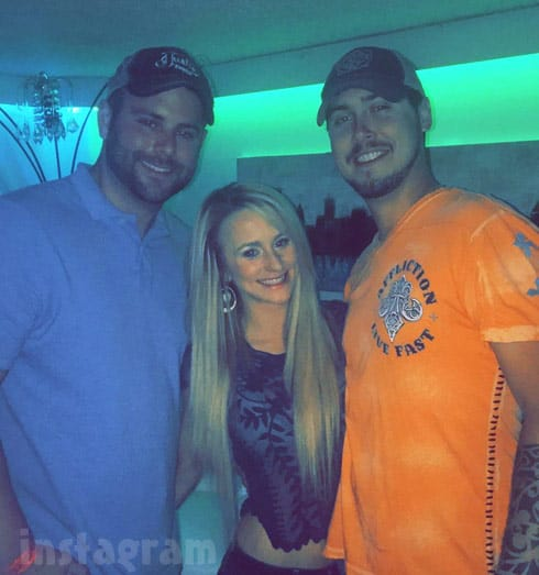 Leah Messer Jeremy Calvert together 2017
