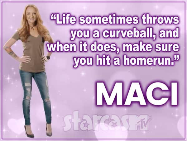 Maci Bookout Real Housewives tagline