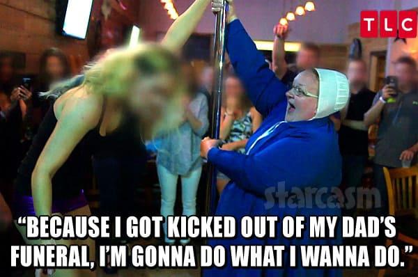 Mama Mary Schmucker Stripper pole quote