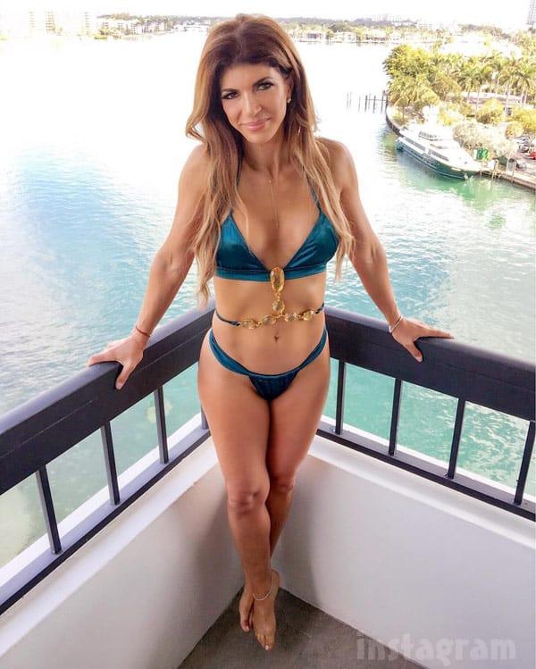 Teresa Giudice bikini photo 2017
