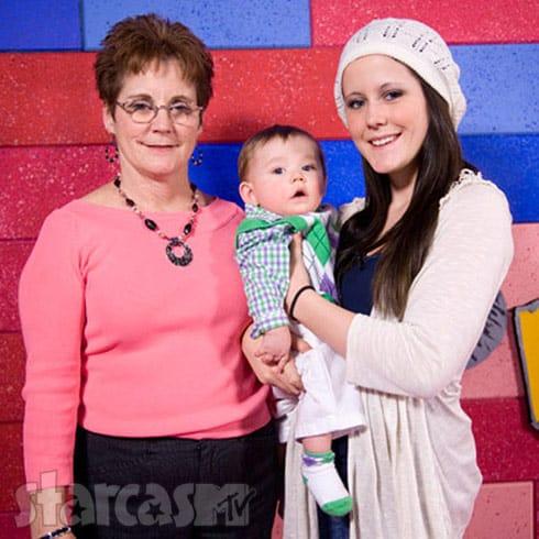 Barbara Evans Jenelle Evans and Jace