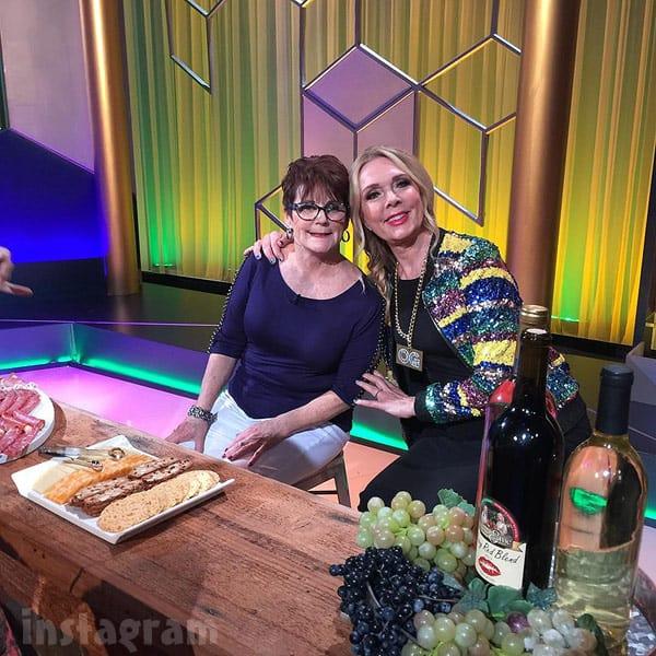 Debra Danielsen and Barbara Evans together