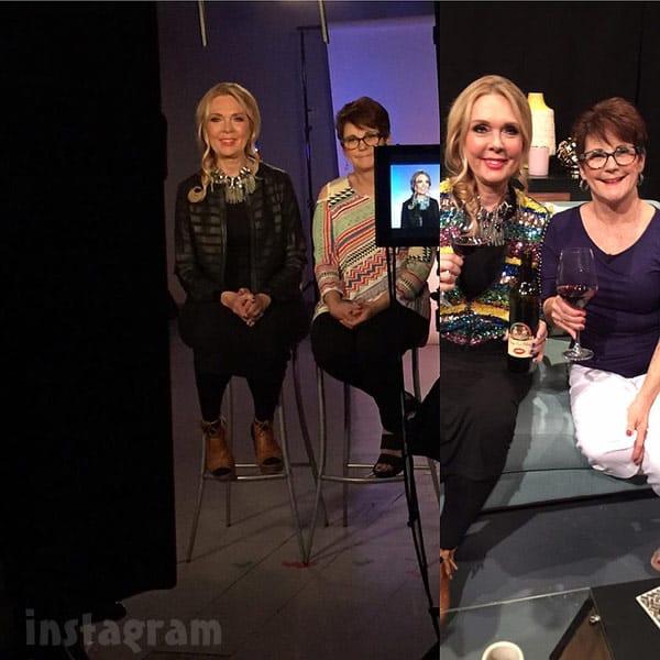 Debra Danielsen and Barbara Evans together for Teen Mom after show filming