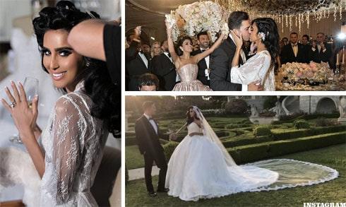 lilly ghalichi wedding dress photos and wedding details