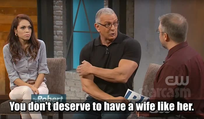 90 Day Fiance Jason and Cassia on The Robert Irvine Show