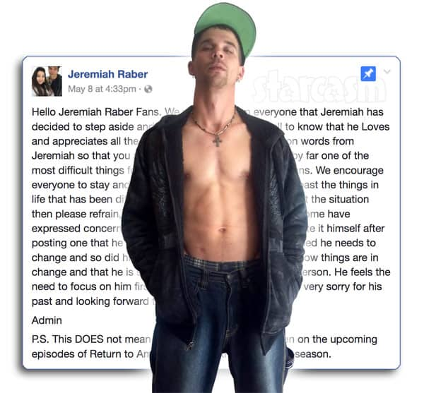 Jeremiah Raber quits Facebook