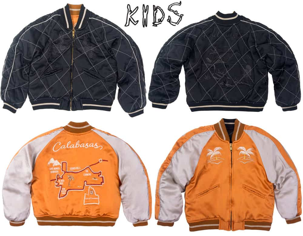 Kim Kardashian Kanye West_Kids Supply Calabasas jacket