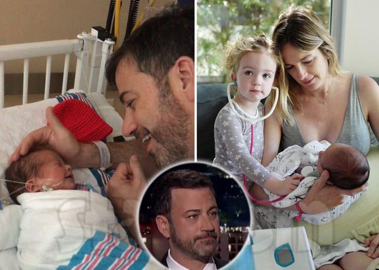 Jimmy Kimmel Thanks Fans After Revealing Newborn Son S