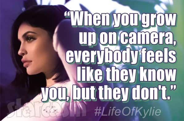 Life of Kylie Jenner quote