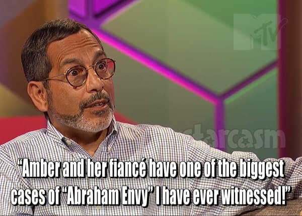 Michael Abraham envy quote about Amber Portwood
