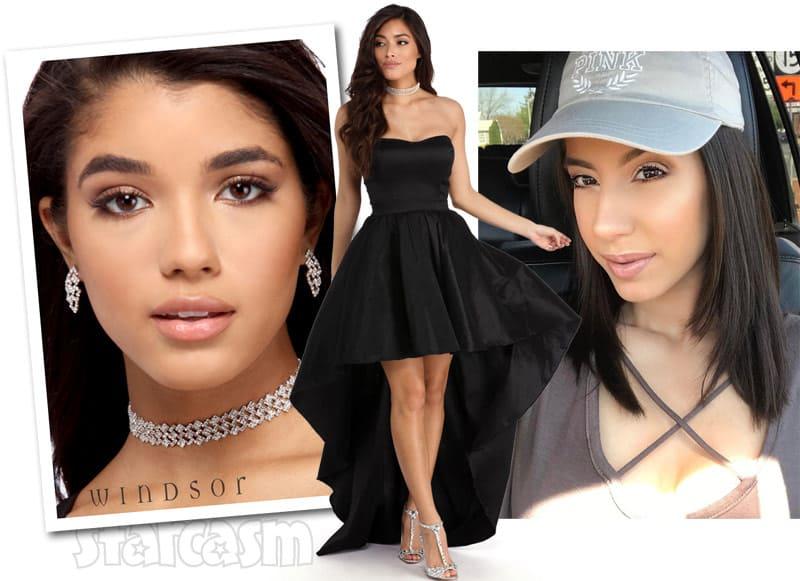 Vee Torres prom dress giveaway photos