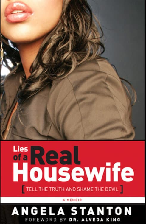 Angela Stanton book on Phaedra Parks Lies of a Real Housewife