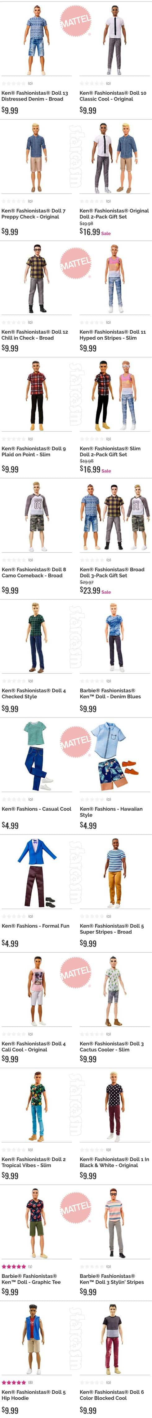 Every Fashionistas Ken doll