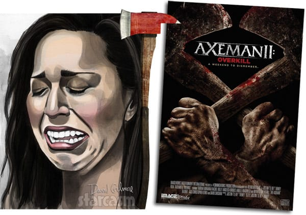 Farrah Abraham cry face movie Axeman II Overkill