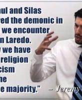 Jeremy Vuolo quote on Catholics